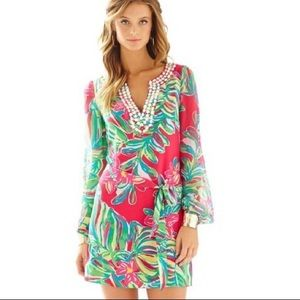 Lilly Pulitzer Seamus Tunic Dress in Jungle Tumble